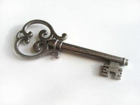 Custom Key Style A in Stainless Steel