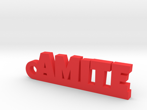 AMITE Keychain Lucky in Red Processed Versatile Plastic