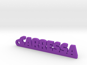 CARRESSA Keychain Lucky in Purple Processed Versatile Plastic