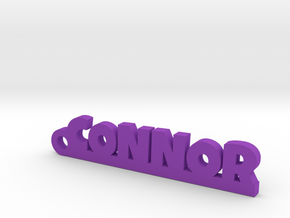 CONNOR Keychain Lucky in Purple Processed Versatile Plastic