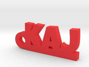 KAJ Keychain Lucky in Red Processed Versatile Plastic