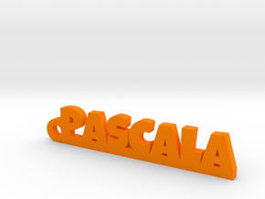 PASCALA Keychain Lucky in Orange Processed Versatile Plastic