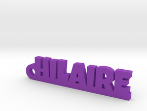 HILAIRE Keychain Lucky in Purple Processed Versatile Plastic