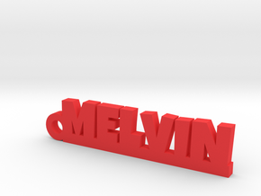 MELVIN Keychain Lucky in Red Processed Versatile Plastic