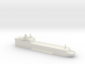 1/1800 Scale MV Baltic Ferry in White Natural Versatile Plastic