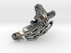 FLYTWIST in Polished Silver