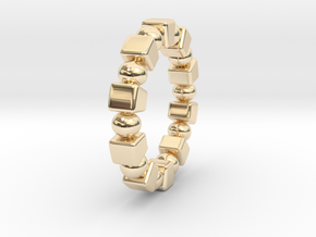 Claudette - Ring in 14K Yellow Gold: 9 / 59