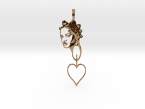 RIHANNA PENDANT - RIHANNA FAN PENDANT - Exclusive  in Polished Brass (Interlocking Parts)