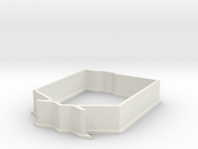 Stationary Guard in White Natural Versatile Plastic