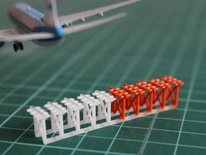 1:400 Airport ILS Array in Smooth Fine Detail Plastic