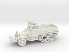 M9 Half-track (Usa) 1/100 in White Natural Versatile Plastic