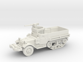 M9 Half-track (Usa) 1/87 in White Strong & Flexible