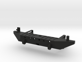 Rear Bumper with Receiver Hitch for Axial SCX10  in Black Strong & Flexible