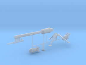"""""""Davy Crockett"""" Atomic Weapon (+ XM-29 Launcher)! in Frosted Ultra Detail: 1:35"""