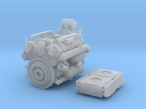 1/30 Maybach HL-230 P30 Motor in Smooth Fine Detail Plastic