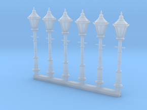 Victorian Street Light 15mm Group in Smoothest Fine Detail Plastic