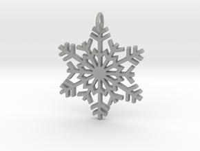 Snowflake in Aluminum
