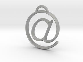at symbol in Aluminum