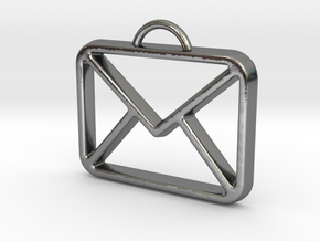 You've Got Mail in Polished Silver