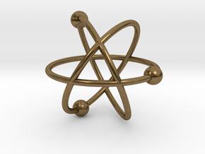 Atom in Natural Bronze