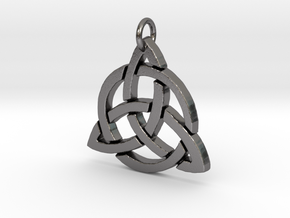 Triquetra in Polished Nickel Steel