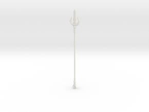 """""""BotW"""" Gerudo Spear in White Natural Versatile Plastic: 1:12"""