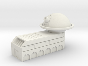 Observatory in White Natural Versatile Plastic