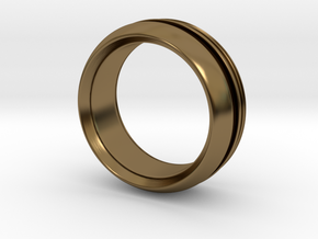 Modern+inset in Polished Bronze: 6 / 51.5