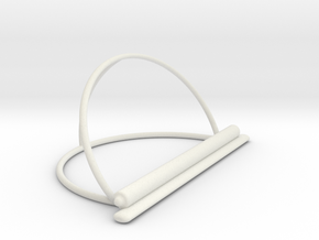 IPad Stand  Desk Style in White Natural Versatile Plastic