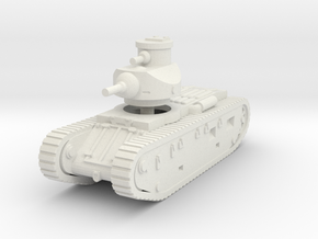 1/144 Medium tank M1921 in White Natural Versatile Plastic