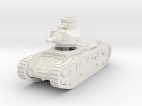 1/144 Medium tank M1921 in White Strong & Flexible