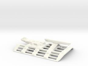 USS Wake Island mk 1 in White Processed Versatile Plastic
