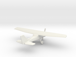 Cessna 172 - 1:200scale in White Strong & Flexible