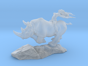 Rhino Rider 25mm in Smooth Fine Detail Plastic