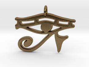 Eye of RA in Natural Bronze
