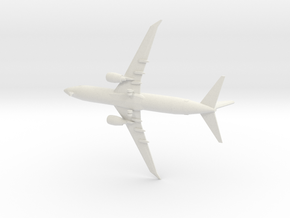 1/350 Boeing 737-800 (Gear Down) in White Natural Versatile Plastic