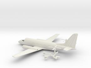 041B Grumman G-159 Gulfstream 1/144 WSF in White Strong & Flexible