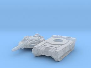 Terran Laser Tank in Smooth Fine Detail Plastic