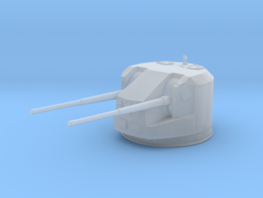 1/600 RN WW2 Dual 5.25 Inch Guns 1941 (8) in Smoothest Fine Detail Plastic