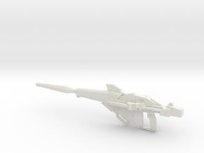 RX-0 Unicorn Gundam Beam Magnum 1-144 in White Natural Versatile Plastic