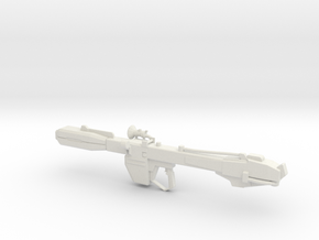 Gundam Beam Bazooka 1-144 in White Natural Versatile Plastic