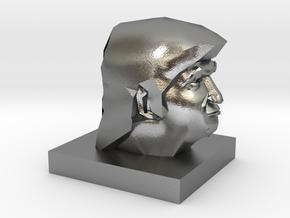 Trump Head in Natural Silver: 1:10