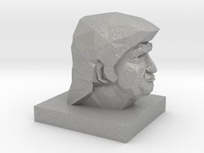 Trump Head in Aluminum: 1:10
