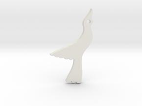 Seagull in White Natural Versatile Plastic