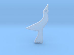 Seagull in Smooth Fine Detail Plastic