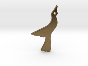 Seagull in Natural Bronze