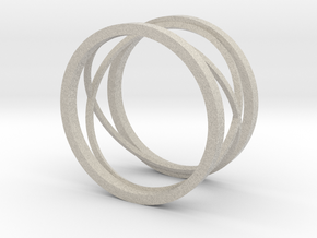 New style ring in Natural Sandstone: 8 / 56.75