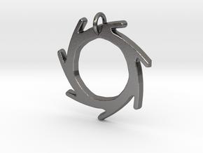 Seven Lines II - Sun in Polished Nickel Steel