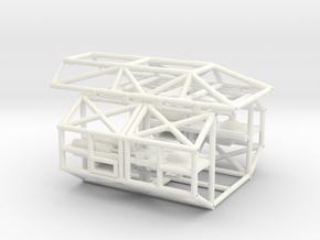 34 Cm  COSMOS 1999 TREILLIS AVAR in White Processed Versatile Plastic