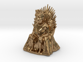 Donald Trump as Game of Thrones Character in Natural Brass: Small